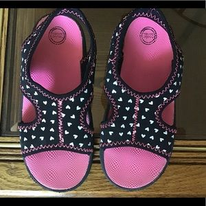 Toddle girls sandals
